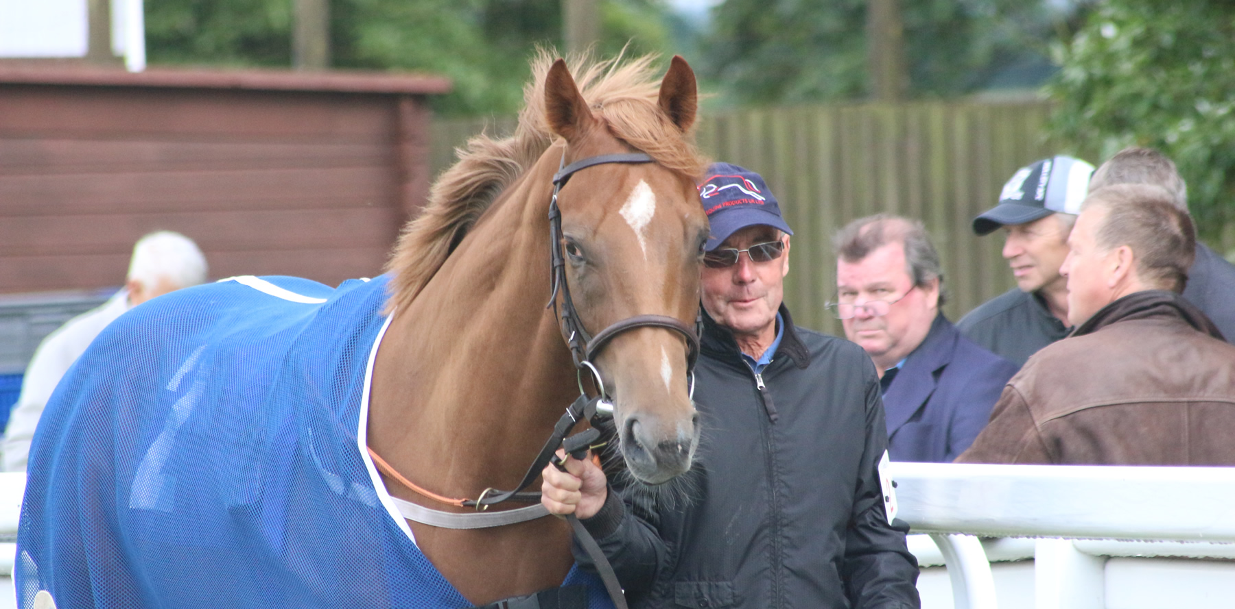 John Bottomley with Roaring Rory